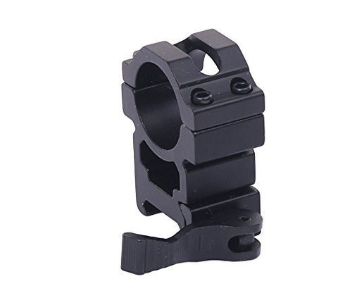 High Quality 25.4mm Quick Release QD Scope Flashlight Ring Mount