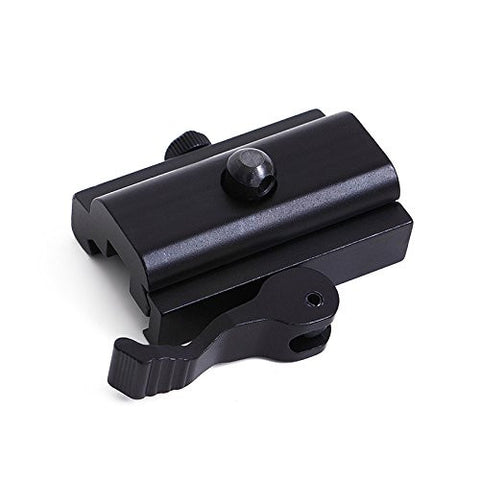 QD Quick Cam Lock Bipod Sling Swivel Adapter Mount for Picatinny Weaver Rail
