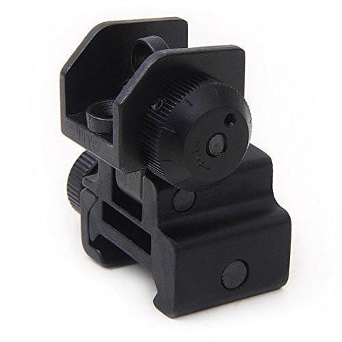 AR15 Flip-Up Rear Sight w-Dual Apertures and Windage by ACME Machine