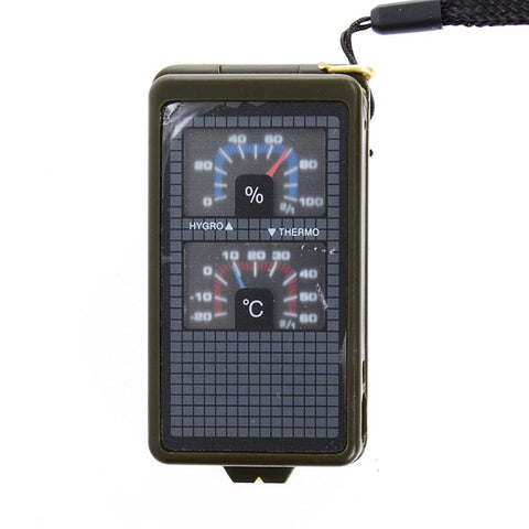 10 in 1 Camping/Survival Tool Multi Function Compass Kit