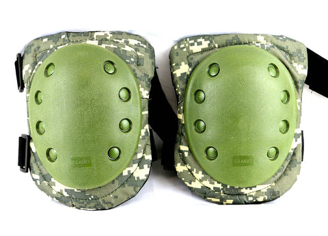Digital Camo Tactical Elite Knee Pad Impact Resistant One Size Fits Most by ACME Machine