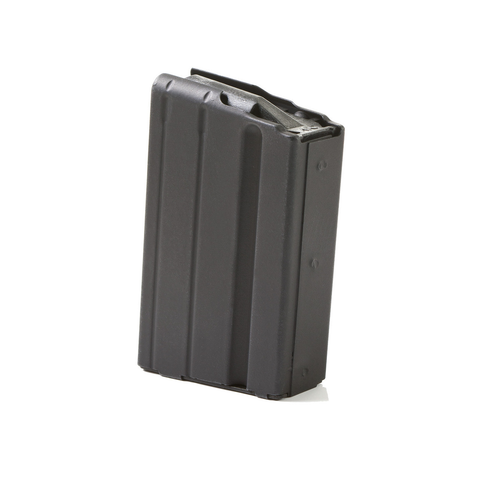 ASC 6.8 SPC AR-15 Magazine 10 Rround Stainless Steel Black
