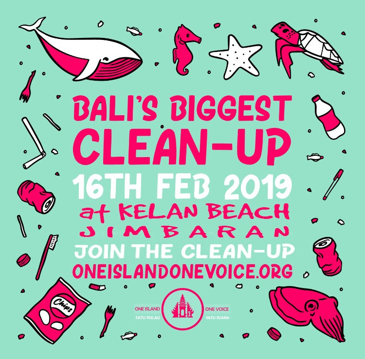 Beach Clean Up Jimbaran | 16 February