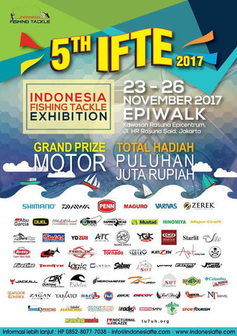 Indonesia Fishing Tackle Exhibition 2017