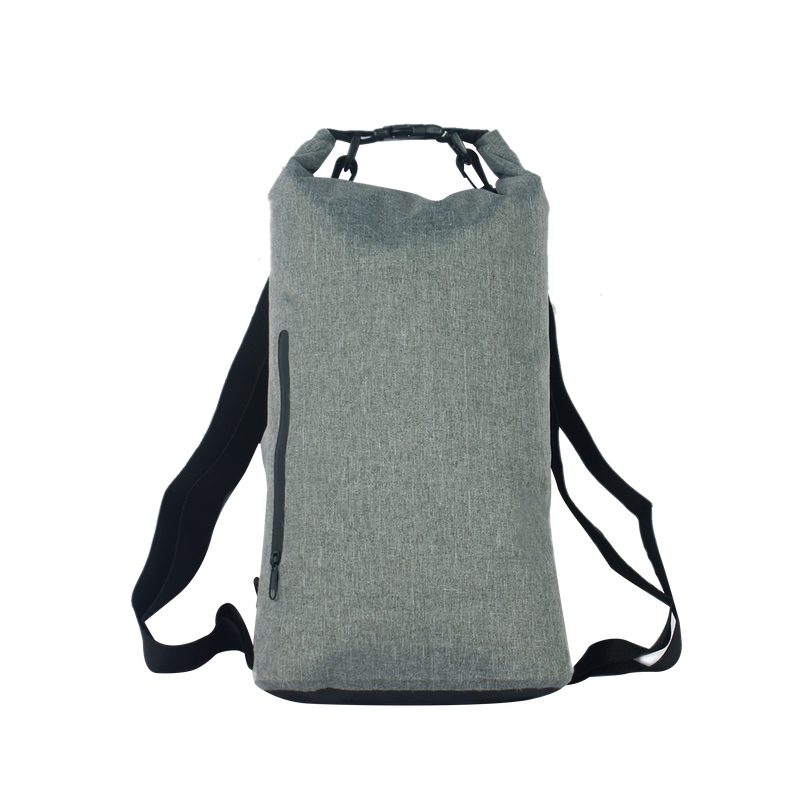 10 Liter Heathered Dual Strap Dry Bags