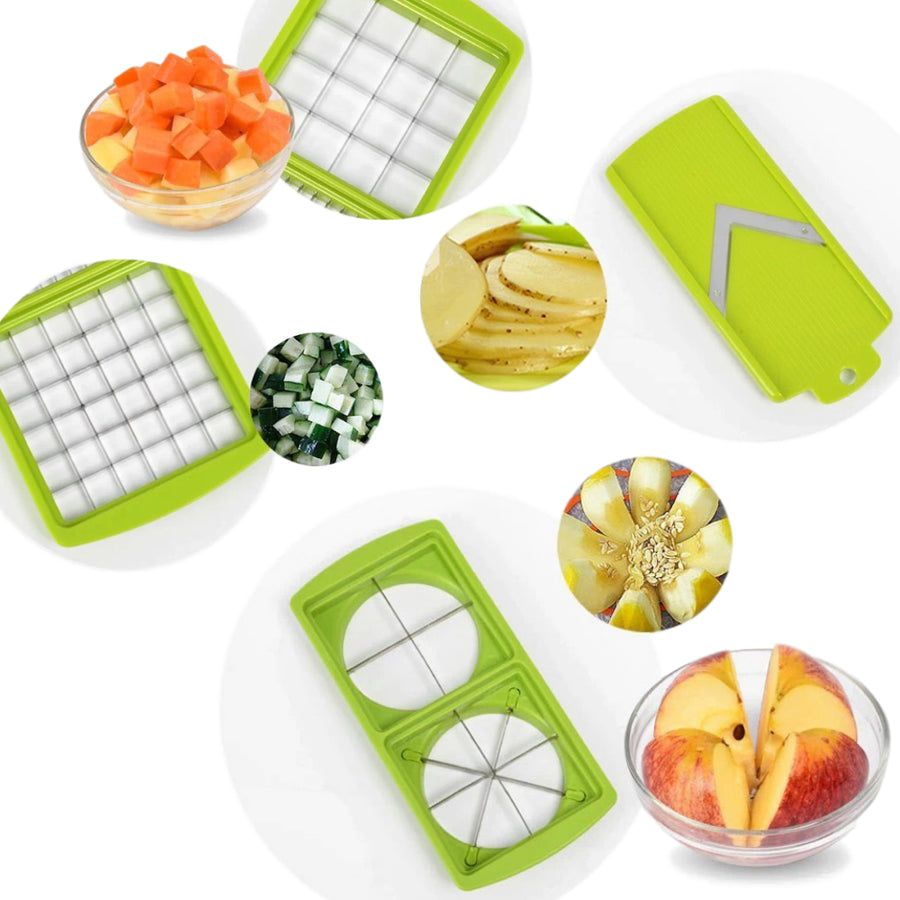 12-in-1 Fruits And Vegetables Cutter Set - Fantasy Jewelry Online