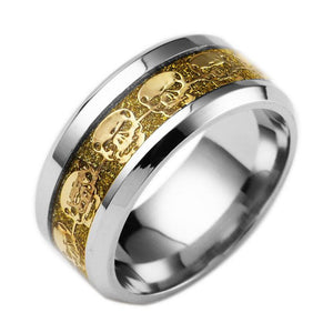 Band Of Skulls Ring - Fantasy Jewelry Online