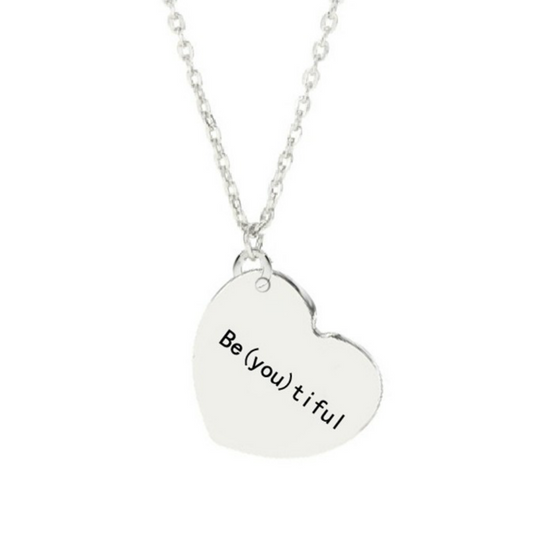 Be(you)tiful Pendant Necklace - Fantasy Jewelry Online
