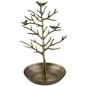 Beautiful Bird Tree Stand Jewelry Display Holder - Fantasy Jewelry Online