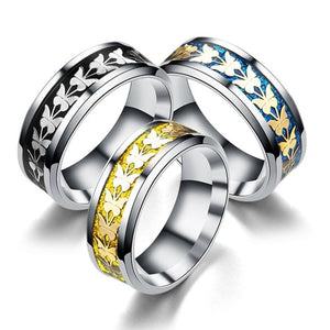 Butterfly Totem Ring - Fantasy Jewelry Online
