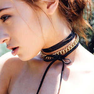 Chain Choker Necklace - Fantasy Jewelry Online