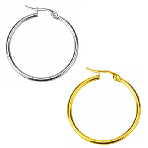 Classic Hoop Earrings - Fantasy Jewelry Online