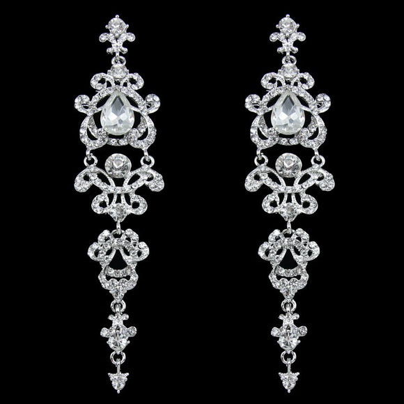 Alysia Chandelier Statement Earrings - Fantasy Jewelry Online