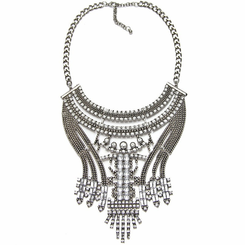 Odelia Statement Necklace - Fantasy Jewelry Online