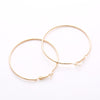 Chic Hoop Earrings 70mm - Fantasy Jewelry Online