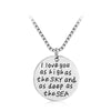 Love Letter Pendant Necklace - Fantasy Jewelry Online