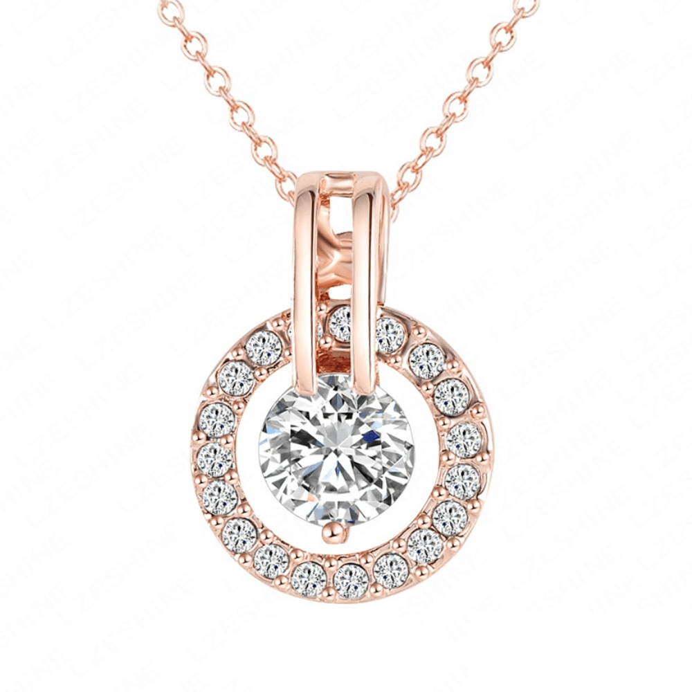 Halo Pendant Necklace - Fantasy Jewelry Online