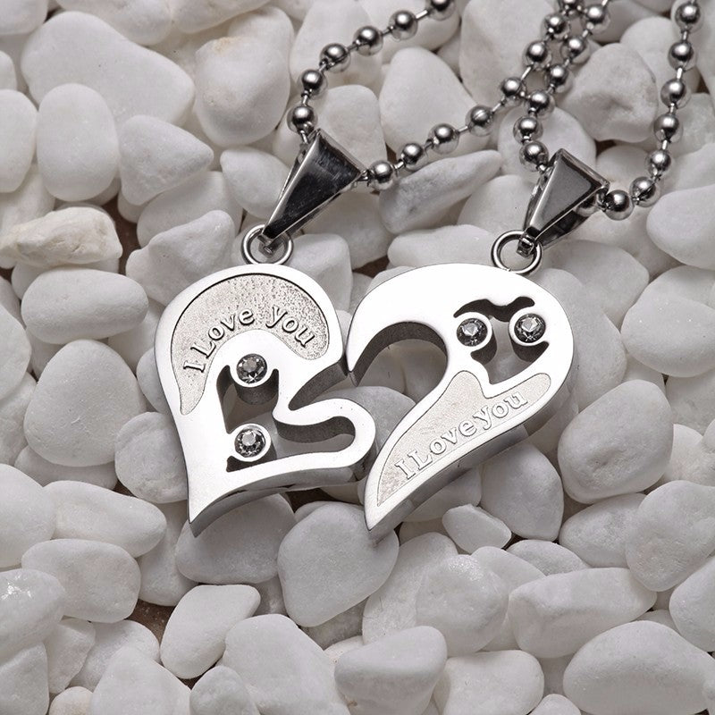 Heart Pendant Necklace Set - Fantasy Jewelry Online