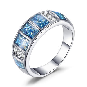 Hues Of Ocean Ring - Fantasy Jewelry Online