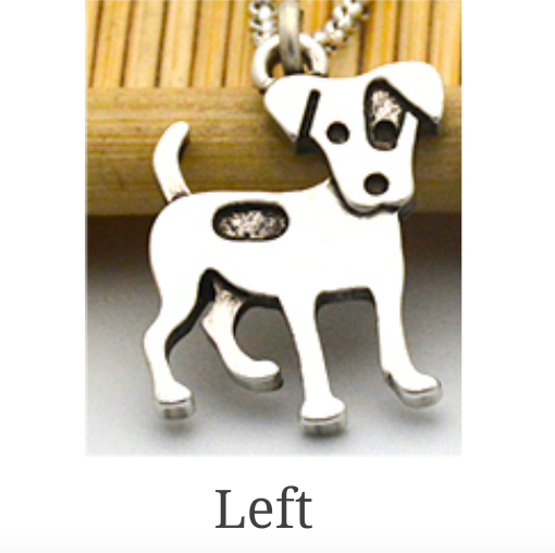 Jack Russell Terrier Necklace - Fantasy Jewelry Online