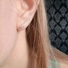 Leaf Ear Crawlers Earrings - Fantasy Jewelry Online