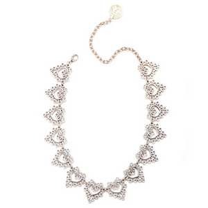 Links Of Hearts Choker Necklace - Fantasy Jewelry Online