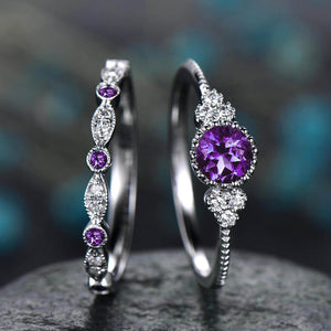 Luxe Princess Ring Set - Fantasy Jewelry Online