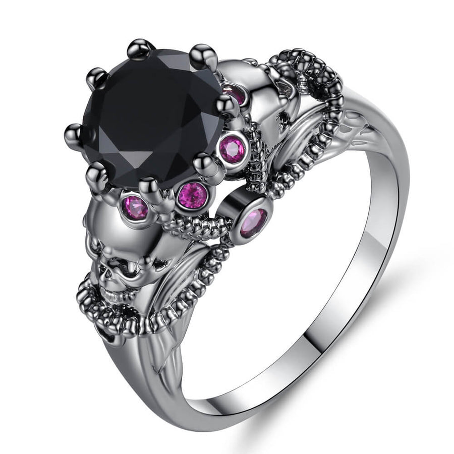Mystique Skull Princess Ring