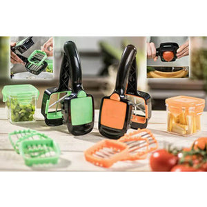 Press And Cut Food Processor Set - Fantasy Jewelry Online
