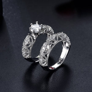 Princess Filigree Ring Set - Fantasy Jewelry Online