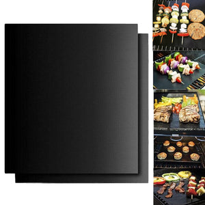 Reusable Non-Stick BBQ Grill Mat (Set of 2) - Fantasy Jewelry Online