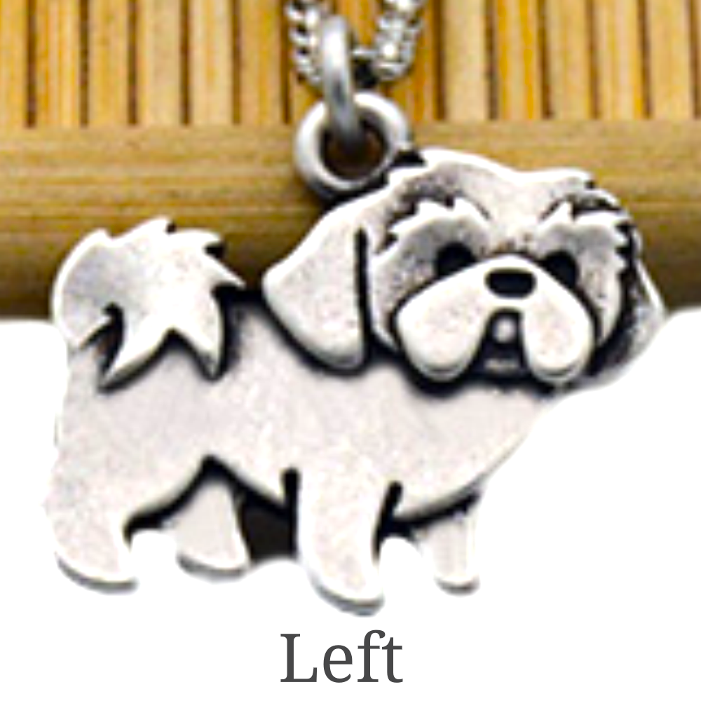 Shih Tzu Necklace - Fantasy Jewelry Online