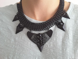 Gypsy Ethnic Bohemian Statement Necklace - Fantasy Jewelry Online