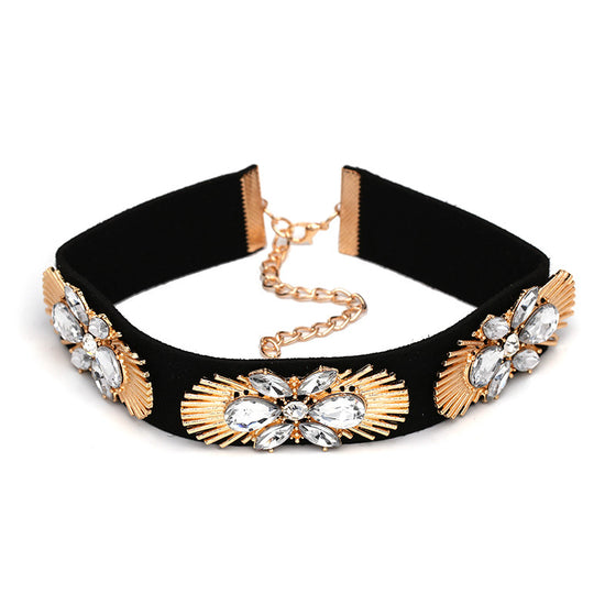 Unique Crystals Choker - Fantasy Jewelry Online