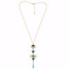 Vanda Geometric Lariat Necklace - Fantasy Jewelry Online