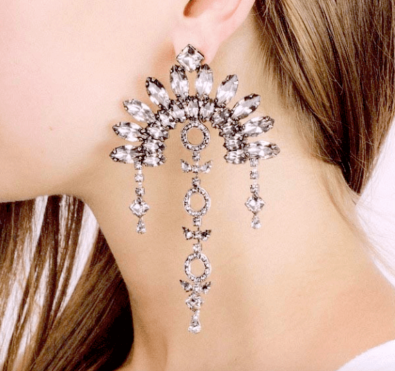Bianca Statement Earrings - Fantasy Jewelry Online