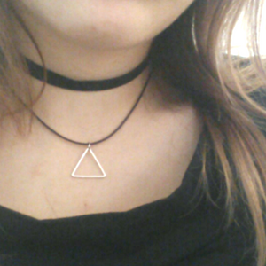 Triangle Choker Necklace - Fantasy Jewelry Online