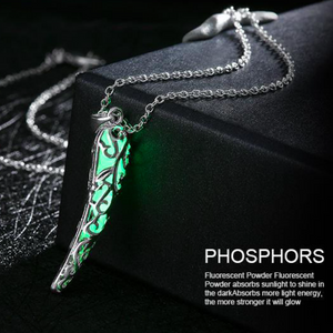 Enchanting Glow in the Dark Pendant Necklace - Fantasy Jewelry Online