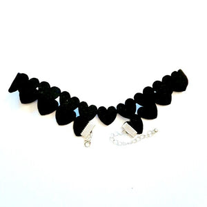 Heart To Heart Choker - Fantasy Jewelry Online