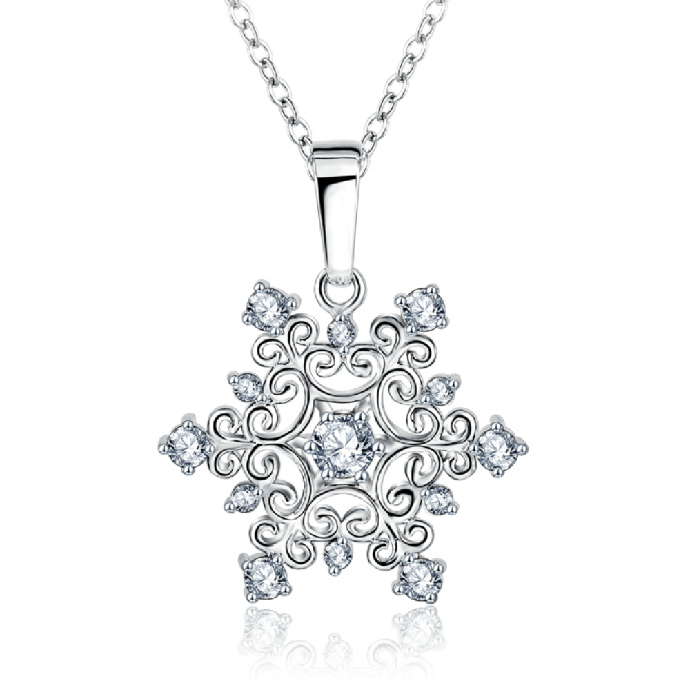 Kylie Snowflake Necklace - Holiday Giveaway!!!