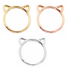 Minimalist Cat Ring - Fantasy Jewelry Online