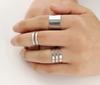 3 Piece Set Fashion Open Rings - Fantasy Jewelry Online