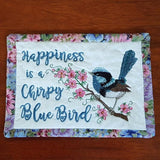 MM1-Blue Wren Mug Mat