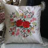 Floral Bouquet Cushion 01