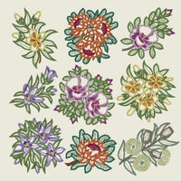 Floral Applique 01 - CD