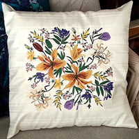 Floral Bouquet Cushion 03