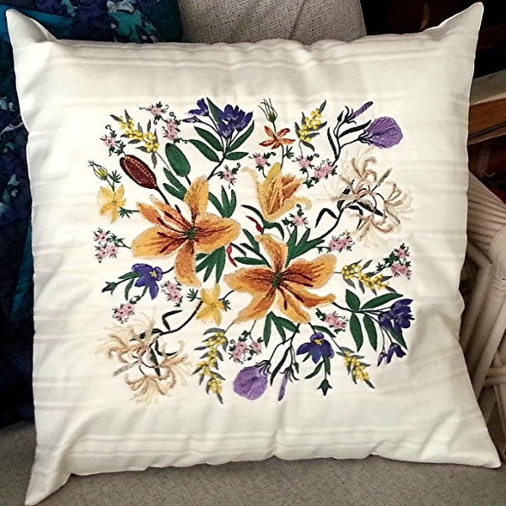 Floral Bouquet Cushion 03  - CD