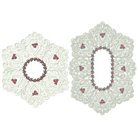 Lace Doily and Runner Combo