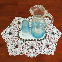 Lace Table Runner 03- Geraldton Wax