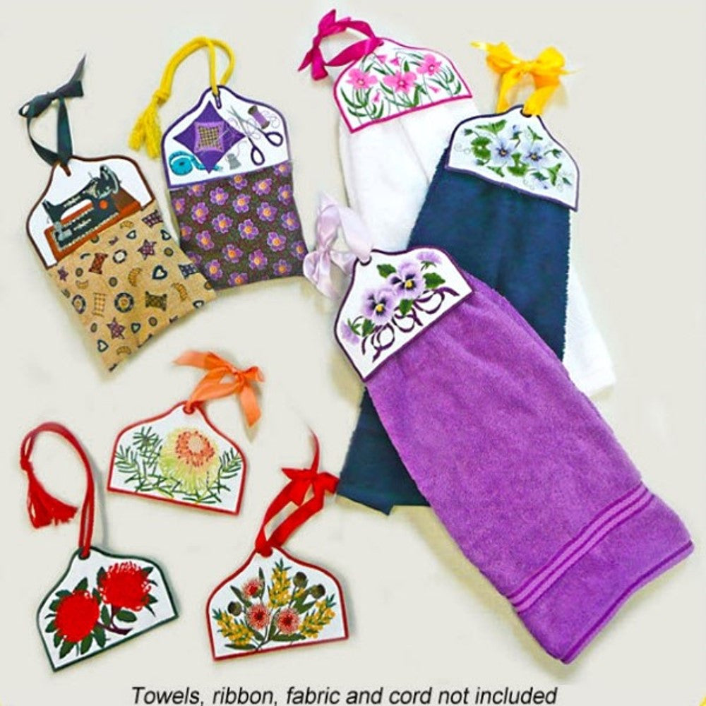 Towel and Bag Toppers - CD